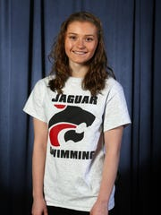 All-Shore girls swimming first team. Dani Holmes, Jackson