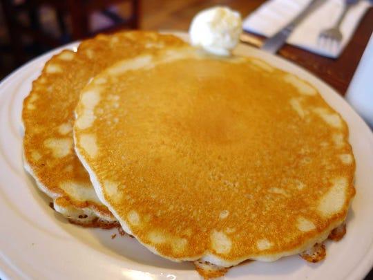 Pancakes at The Gilbert House Restaurant.