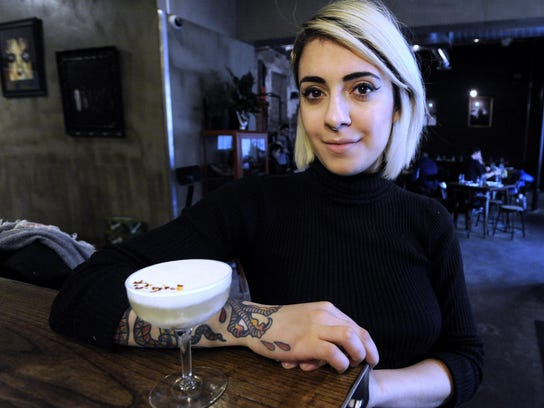 Rock City Eatery beverage director Anna Atanassova,