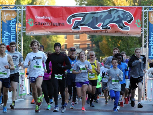 The Panther Run begins at Drury on Saturday. Proceeds benefit Care to Learn.