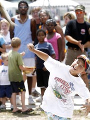 The Panacea Blue Crab Festival parade rolls at 10 a.m. Saturday and the official opening ceremony begins at 11 a.m. Saturday in Woolley Park in Panacea. The mullet toss, shown here, takes the air at 11:45 a.m. and the crab-picking contest is a go at 1:30 p.m. Entertainers throughout the day include Ralph and Jerry, Mountain Dew Cloggers, Jordan Miller Band and the Adventures of Annabelle Lyn. Admission to the park costs $3 for the general public and children under 12 get in for free. Visit www.bluecrabfest.com.
