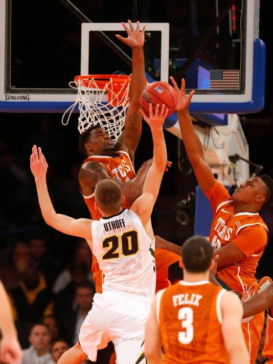 NCAA Basketball: 2K Classic-Iowa vs Texas