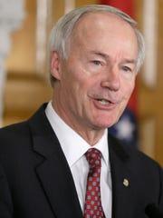 Arkansas Gov. Asa Hutchinson supported continuing the