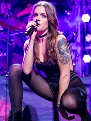 Tove Lo performs on the Jingle Ball tour last December.