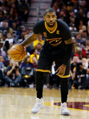 Cleveland Cavaliers guard Kyrie Irving (2) might be ready to have his best season.