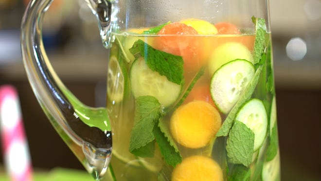 Culinary Dietitian Kim Galeaz says sangria is hands down the most festive summer beverage of all because it's colorful and customizable.