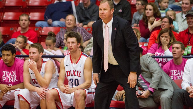 Dixie State takes on UC San Diego in the first round of the NCAA Division II Tournament Friday night in La Jolla, California.
