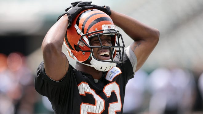 Bengals cornerback William Jackson III was injured in the first full contact practice of training camp on Aug. 1