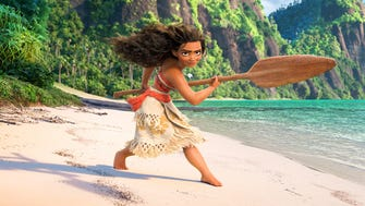 The title character (voiced by Auli'i Cravalho) of 'Moana' is a brave teenager with a passion for navigating the seas.