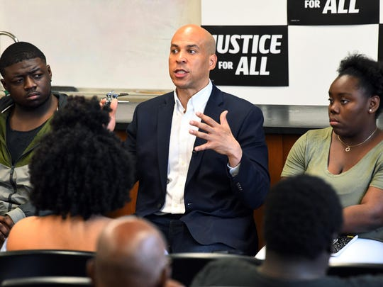 While current gun owners and first-time buyers would be subject to the federal license requirement, a transition period would allow current owners to come into compliance, the Booker campaign said.