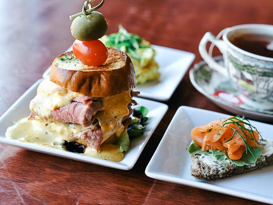 British food is always on the menu at Three Lions Pub