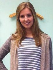 Aimee Whalen, intern at Moxie Boutique in Newark
