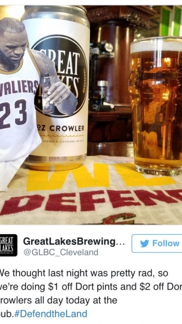 Does LeBron James have a legal case against one beer company? One expert says yes