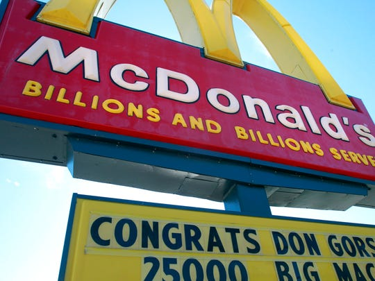 "A disgruntled McDonald's employee allegedly became angry over a shift on Aug. 22 in the town of Brookfield. A criminal complaint said she dumped french fries from the fryer and called her managers ""pedophiles."""