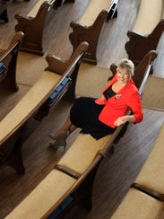 Abby Lorenz is very active in her church, Jerusalem