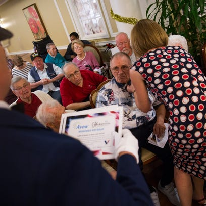 Retirement community in East Naples commemorates Pearl Harbor, honors veterans