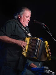 David Hidalgo of Los Lobos performs at the Cannery on Sept. 16, 2015, in Nashville.