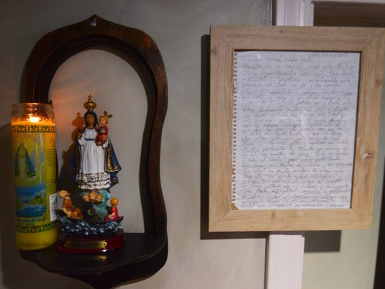 The letter is now framed and on display at El Ambia Cubano in downtown Melbourne.