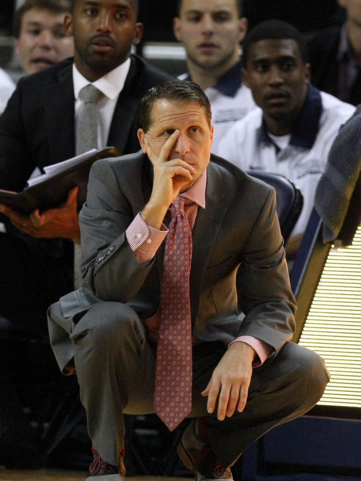 Wolf Pack basketball coach Eric Musselman