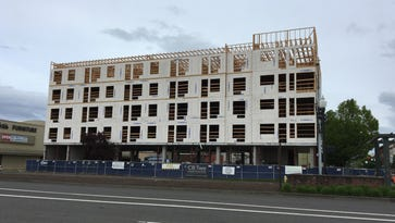 What's being built by Kuebler's Furniture?
