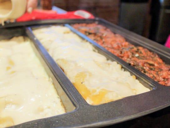 Make three lasagnas--or three anythings--at the same