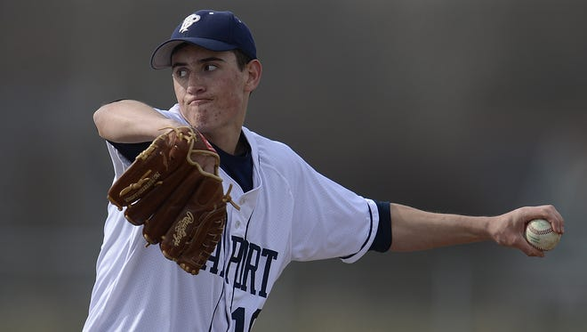 Former Bay Port standout Dakota Klein will pitch for the Green Bay Bullfrogs this summer.