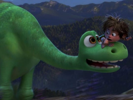 """The Good Dinosaur"" (Not yet rated): ""Inside Out"" got"