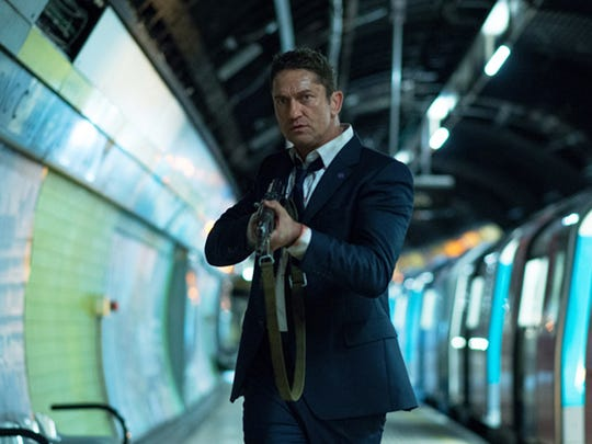 """London Has Fallen"" (Not yet rated): England's prime minister has died, so all the world's leaders descend on London for the funeral. But something's up. Gerard Butler puts his shirt on to play the lead Secret Service agent, who has to stop a lethal plot. From the title, sounds like London is going to bear the brunt of things."
