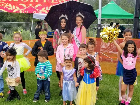 Flavor Fest attracted Miss New Mexico and Miss Teen New Mexico, as well as some aspiring to wear the crowns.