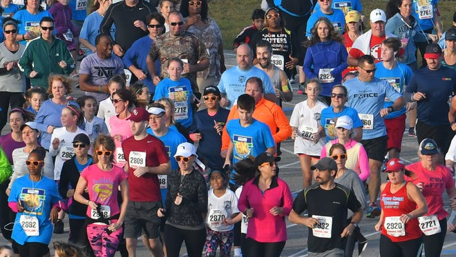 The Fight Child Hunger 5K Run/Walk benefits the Children's Hunger Project and the Sharing Center of Central Florida.