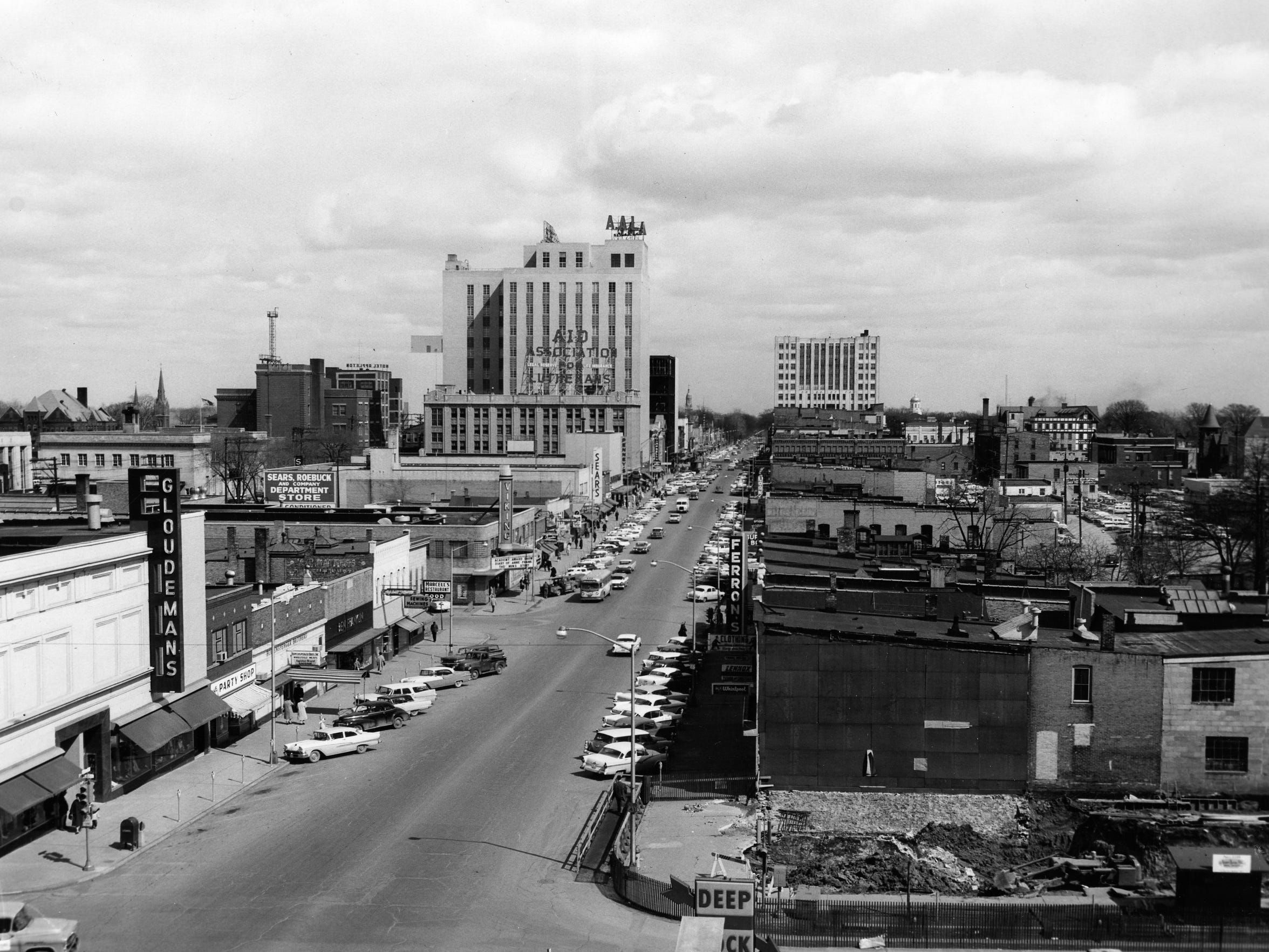 A look at downtown Appleton in the 1960s.