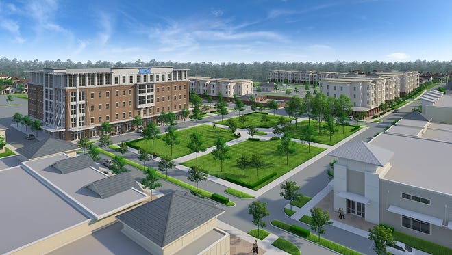 Century Village, an 88-acre planned community will be developed along U.S. 165 North.