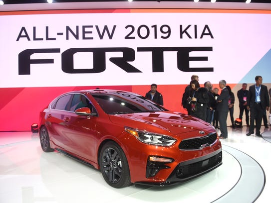 The 2019 Kia Forte borrows some of the styling cues