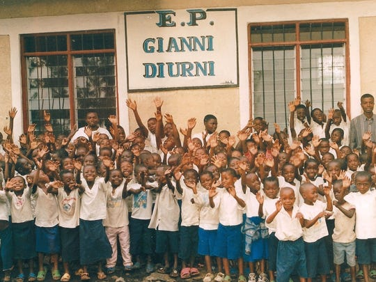 The Gianni Diurni Primary School in the Democratic Republic of the Congo is the recipient of funds raised by Caritas Chamber Chorale.  The school is run by the Adorno Fathers' St. Francis Caracciolo Mission.