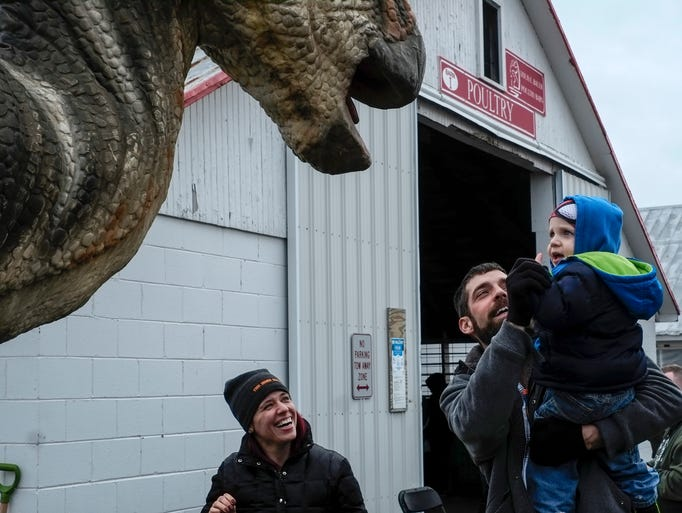 Zach Valley, his son Hudson Valley, 18 months and Dayna