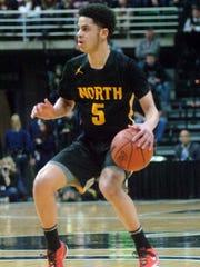 Jacob Joubert ran the North Farmington offense for four seasons.