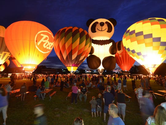 """Balloon glow"" events will be held during the Red River"