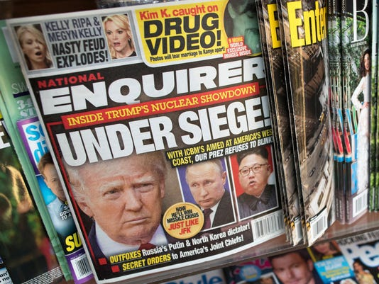 Trump National Enquirer Financial Woes
