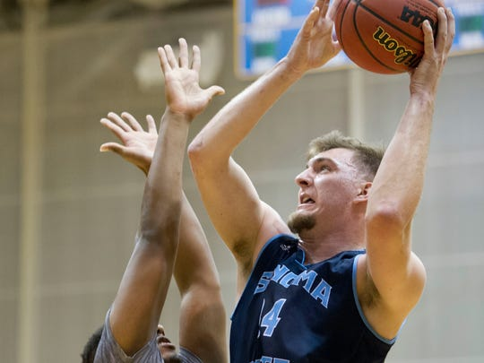 Luke Cochran, who played collegiately at Sonoma State University in California, was the first pick of the Nevada Desert Dogs in the NAPB's inaugural draft on Sunday night.