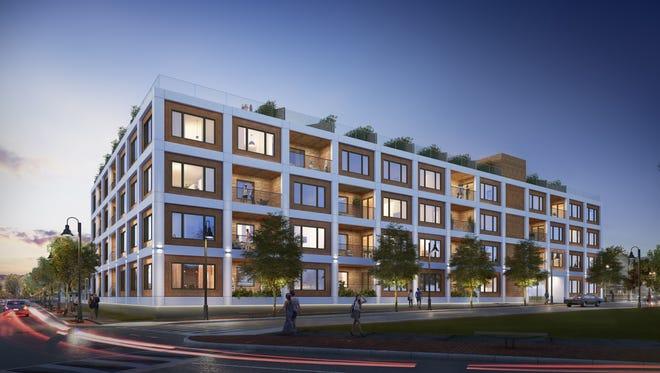 Monroe is a new 34-unit luxury condominium in Asbury Park.