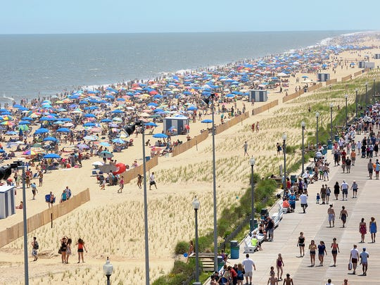 Delaware's coastal communities between Lewes and Fenwick