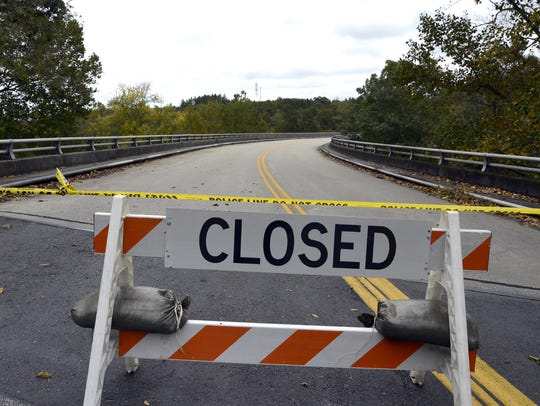 The Blue Ridge Parkway is closed from Milepost 402.7 to Milepost 408.8 near the Pisgah Inn.