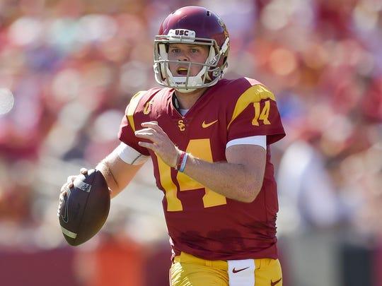 Southern California Trojans quarterback Sam Darnold