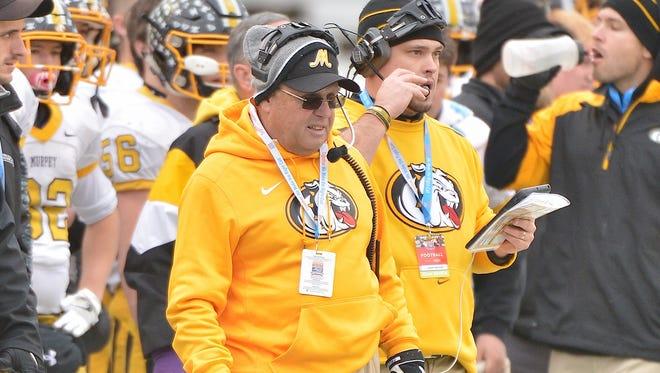 David Gentry has been Murphy's football coach since 1983.