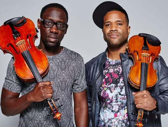 Wil B. (Wilner Baptiste, left) and Kev (Kevin Sylvester)
