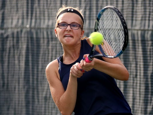 Whitnall Girls Tennis at New Berlin Eisenhower