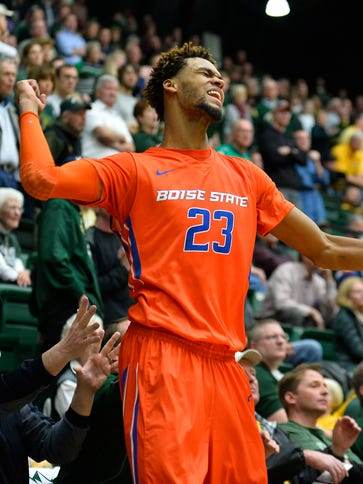 Feb 10, 2016; Fort Collins, CO, USA; Boise State Broncos