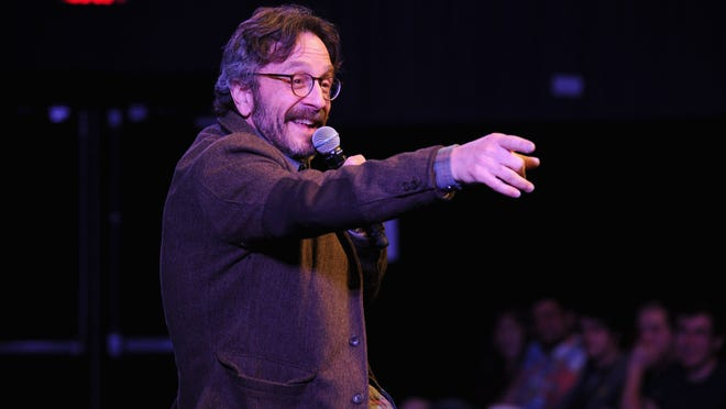 Comedian Marc Maron, last in Rochester for the 2013 Fringe Festival, returns to town for shows this weekend at the Comedy Club in Webster.