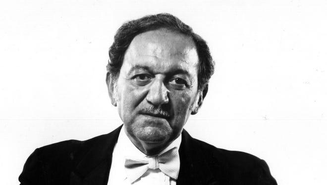 Maestro Abraham Chavez Jr. in 1992.