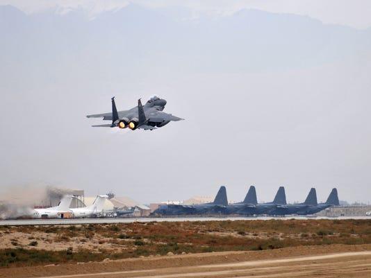 EPA FILE AFGHANISTAN BAGRAM ATTACK WAR CONFLICTS (GENERAL) AFG
